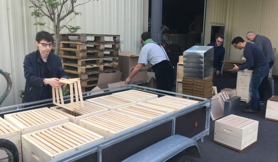 Commande groupée : des ruches en kit